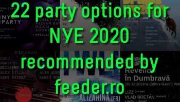 22 party options for your 2020 NYE - recommended by feeder.ro