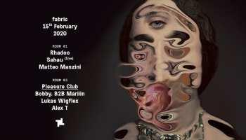 15.2 fabric: Rhadoo, Sahau (Live) & Pleasure Club