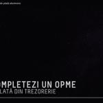 VIDEO: cum completezi un ordin de plată electronic (OPME) pentru transfer online din contul de trezorerie