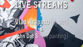 feeder sound LIVE w Vlad Arapasu (dj set) & John Dot S (live painting)