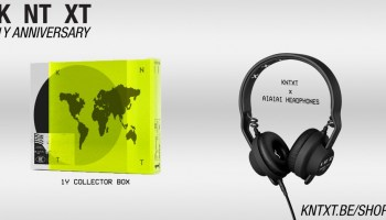 Charlotte de Witte's KNTXT announce exclusive 1 year Collectors Box release, and headphone collaboration with AIAIAI