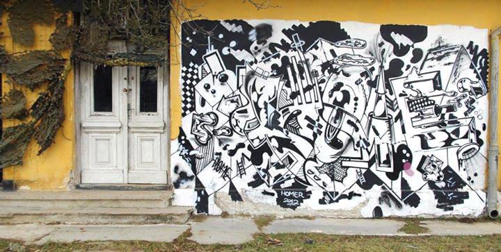 2012 Homeboy LDJ - graffiti at Gurasada DEVA