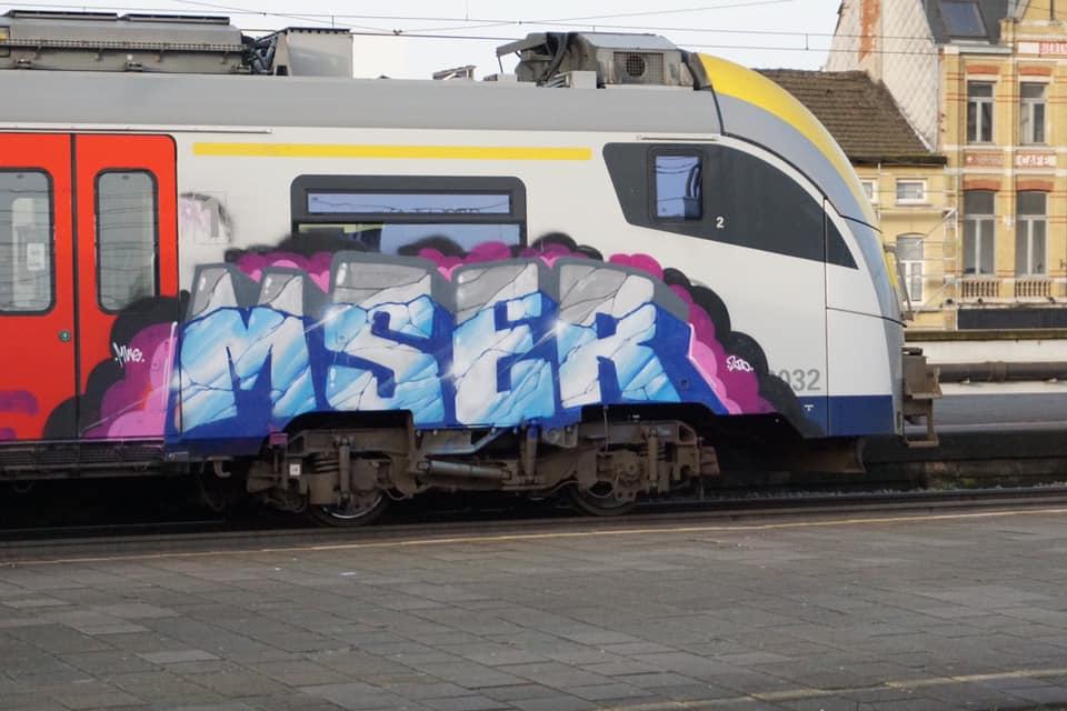 2020-Msero-Mser-graffiti-train-Romania