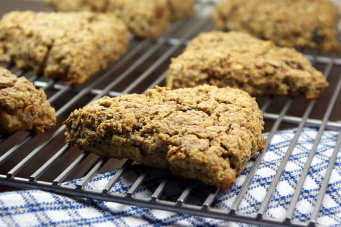 Whole Grain Scones