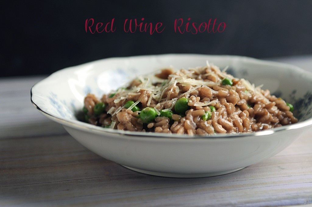 Red Wine Risotto - Feed Me, SeymourFeed Me, Seymour