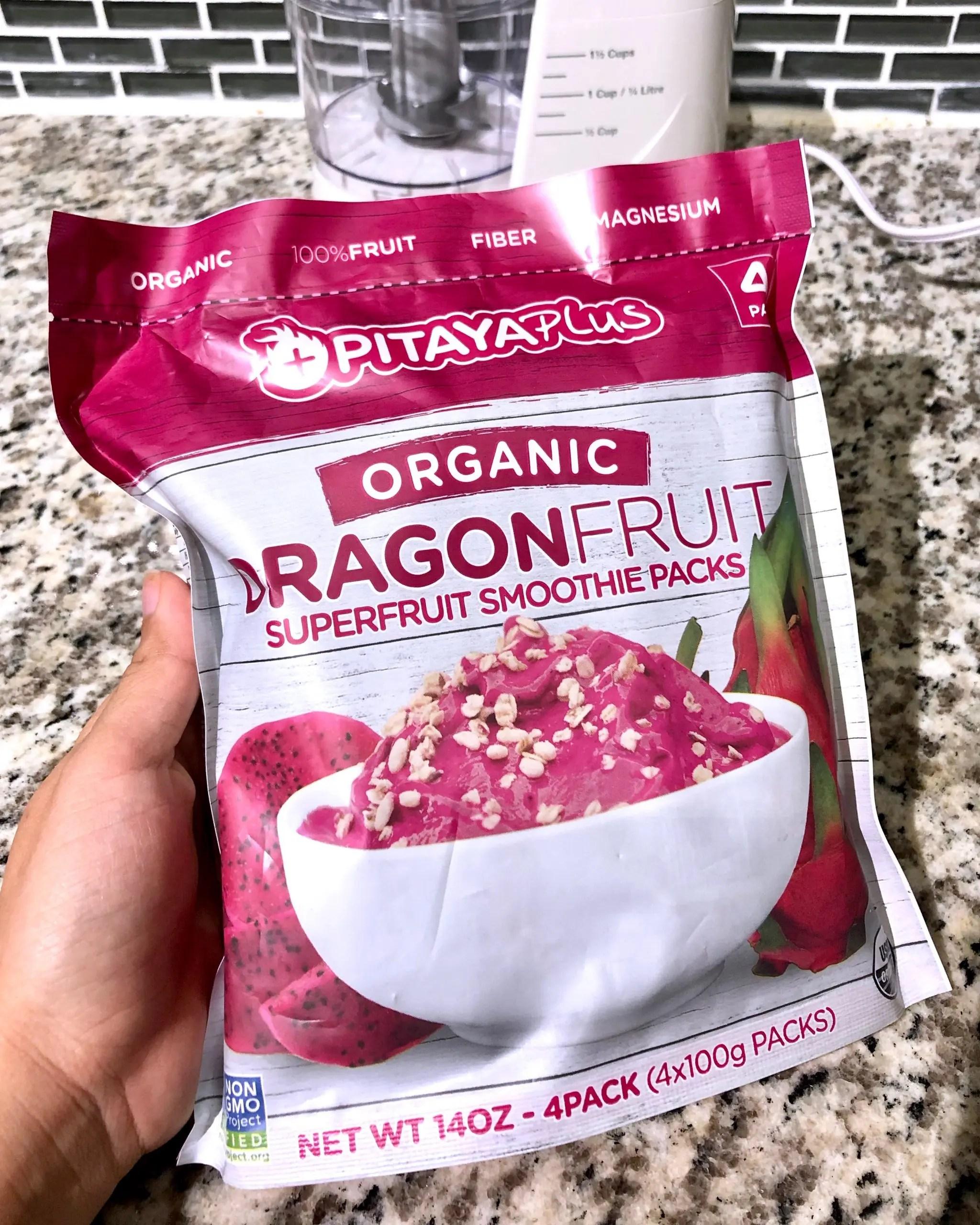 pitaya smoothie pack