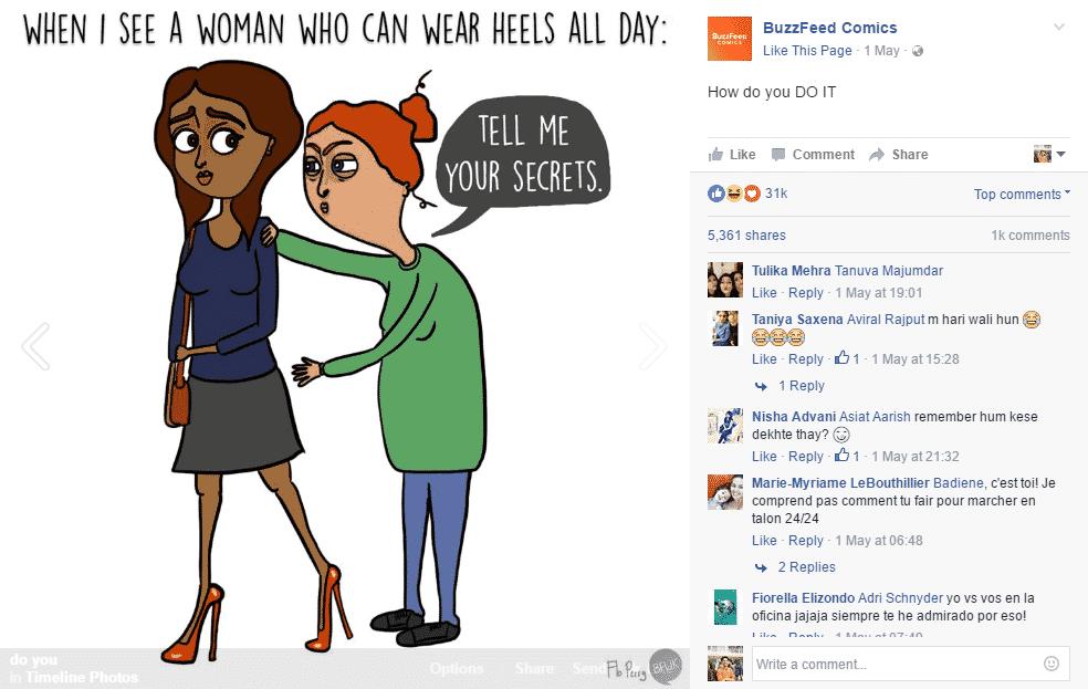 humour facebook posts