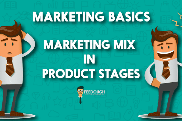 marketing mix product stages