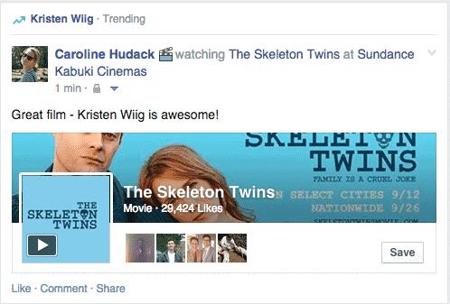 facebook marketing trending topic