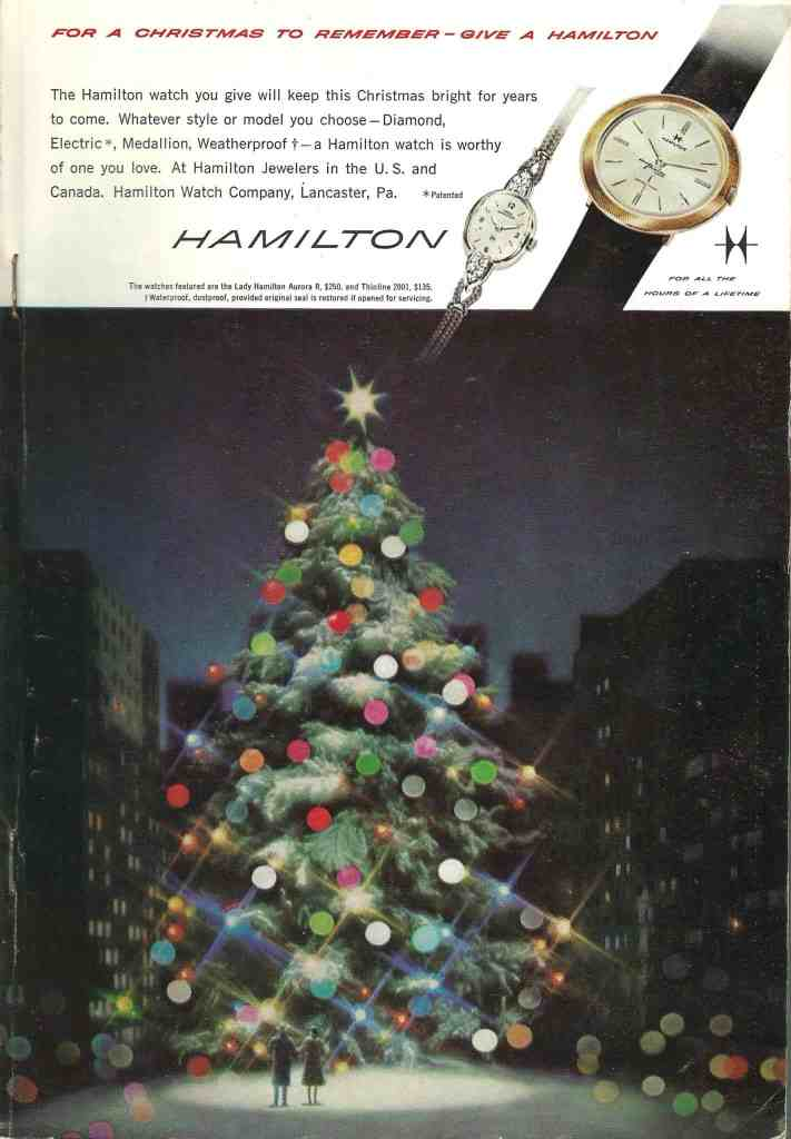 1960 Hamilton Vintage Print ads