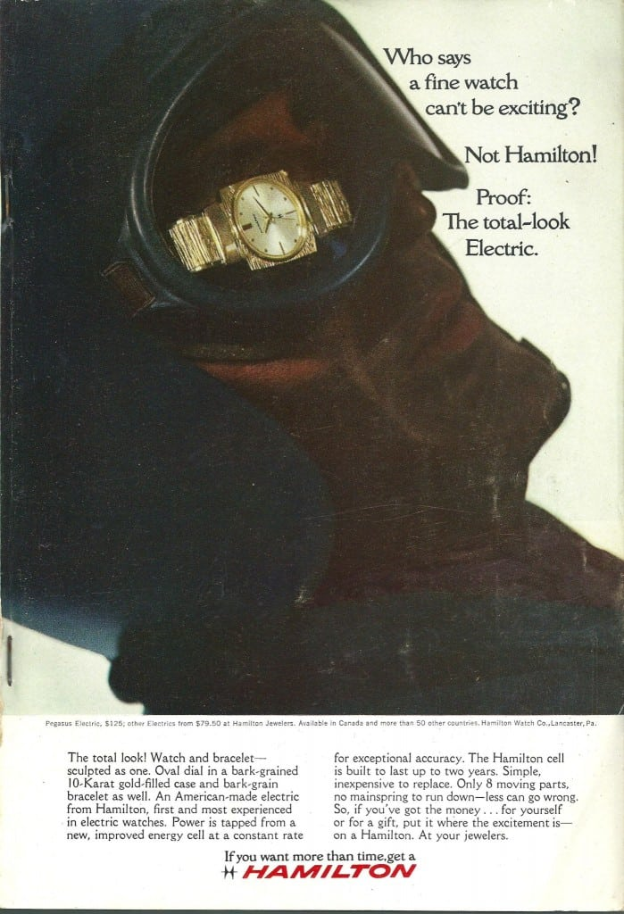 1966 Hamilton Vintage Print ads