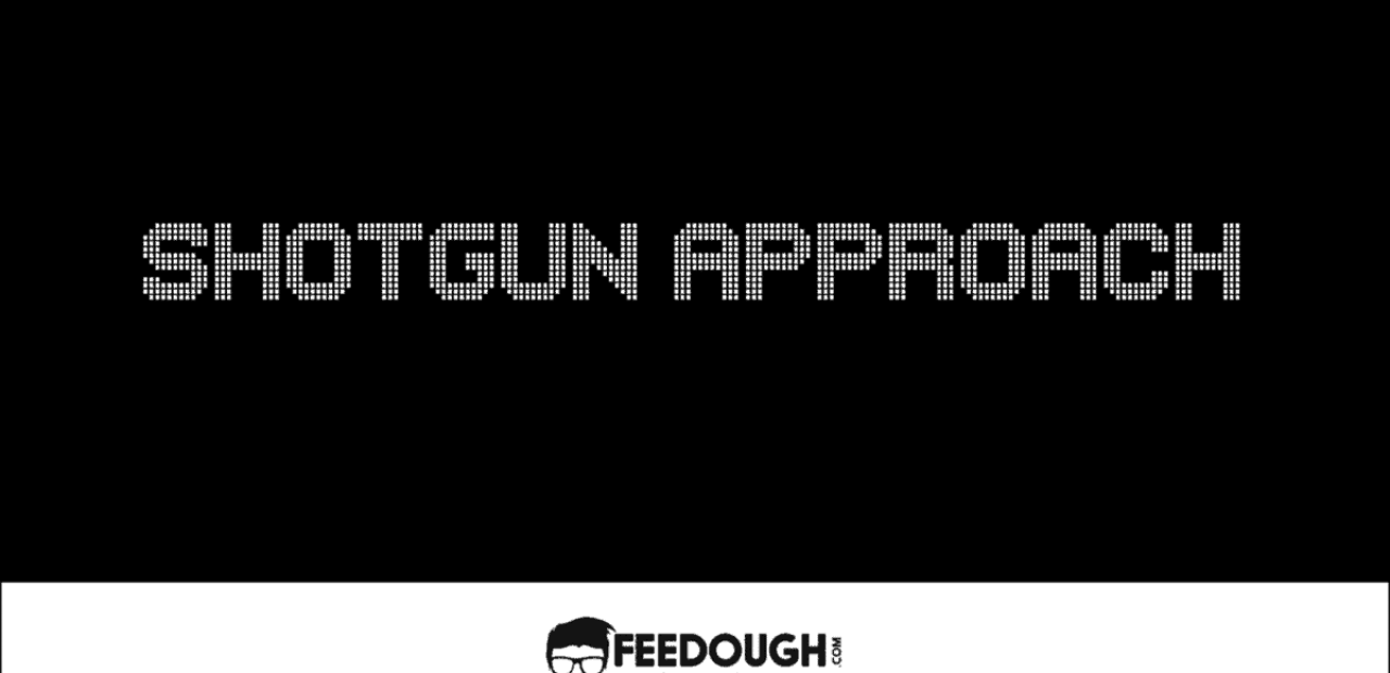 SHOTGUN APPROACH