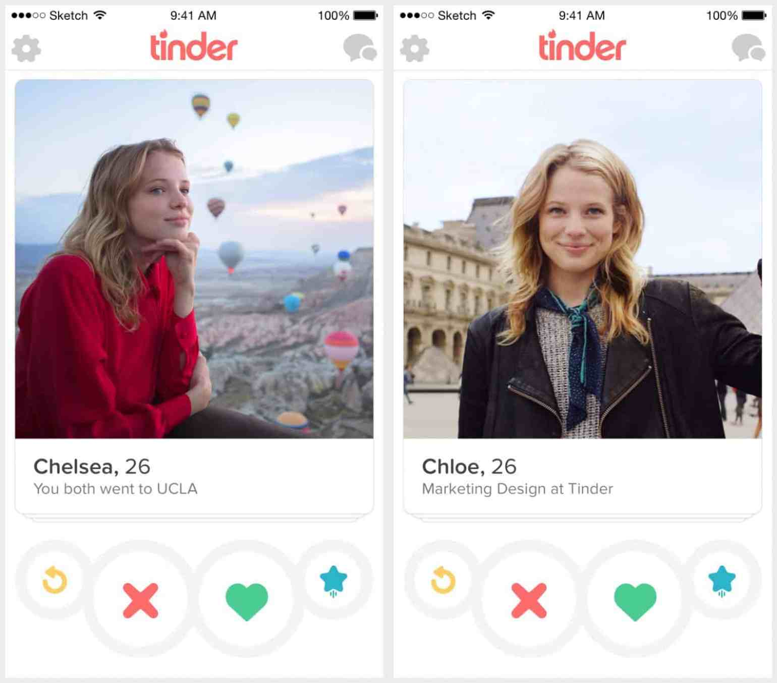 profile tinder business model