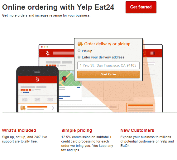 yelp online ordering how does yelp make money