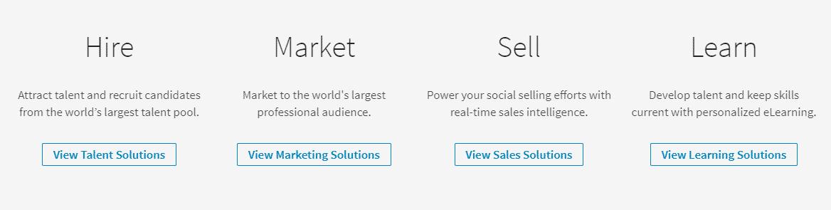 linkedin Business model
