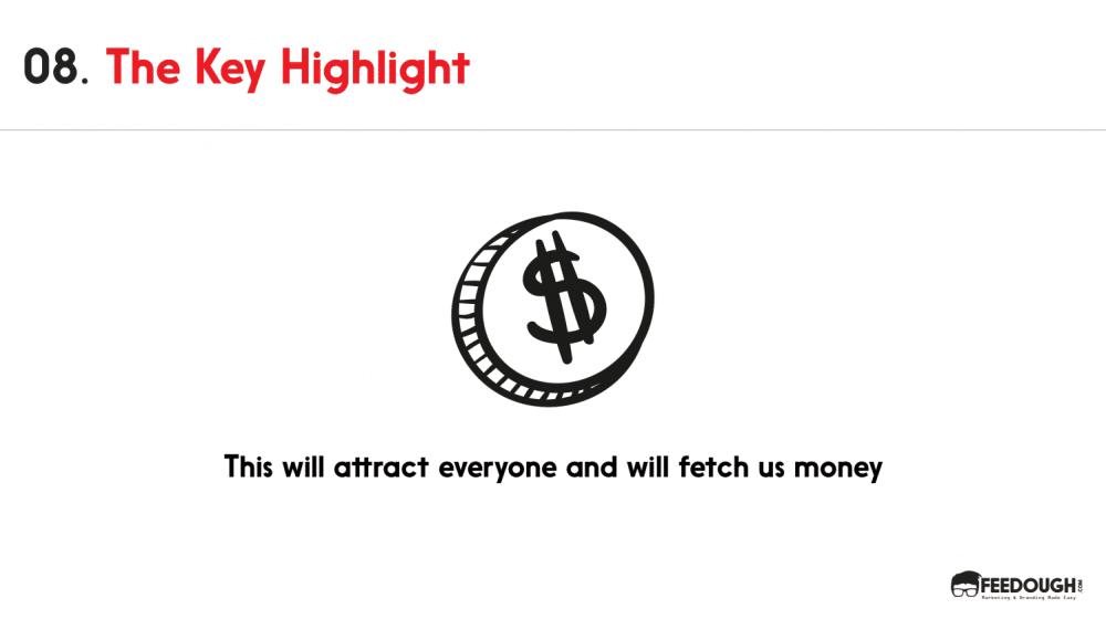 pitch deck - Key highlight