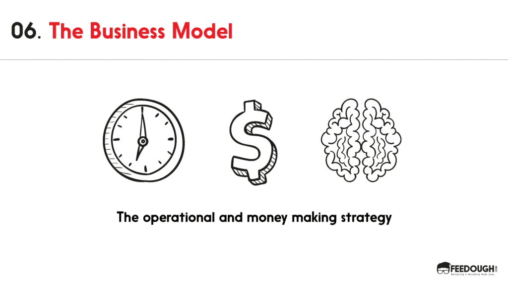 pitch deck - business model
