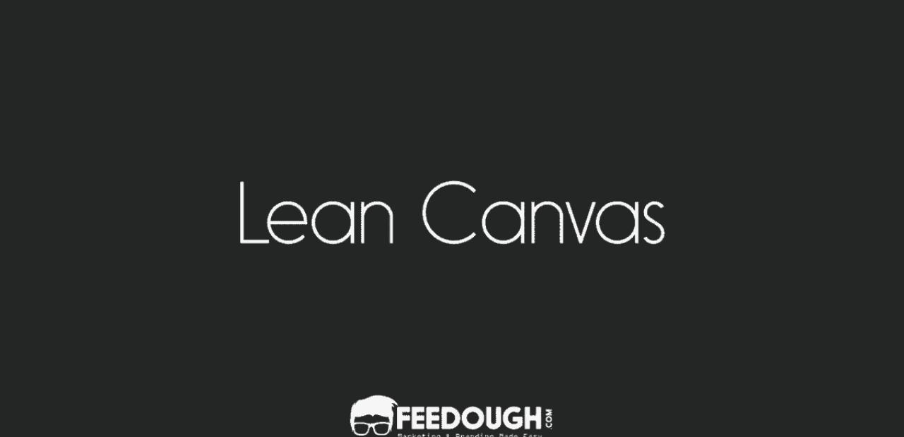 lean canvas