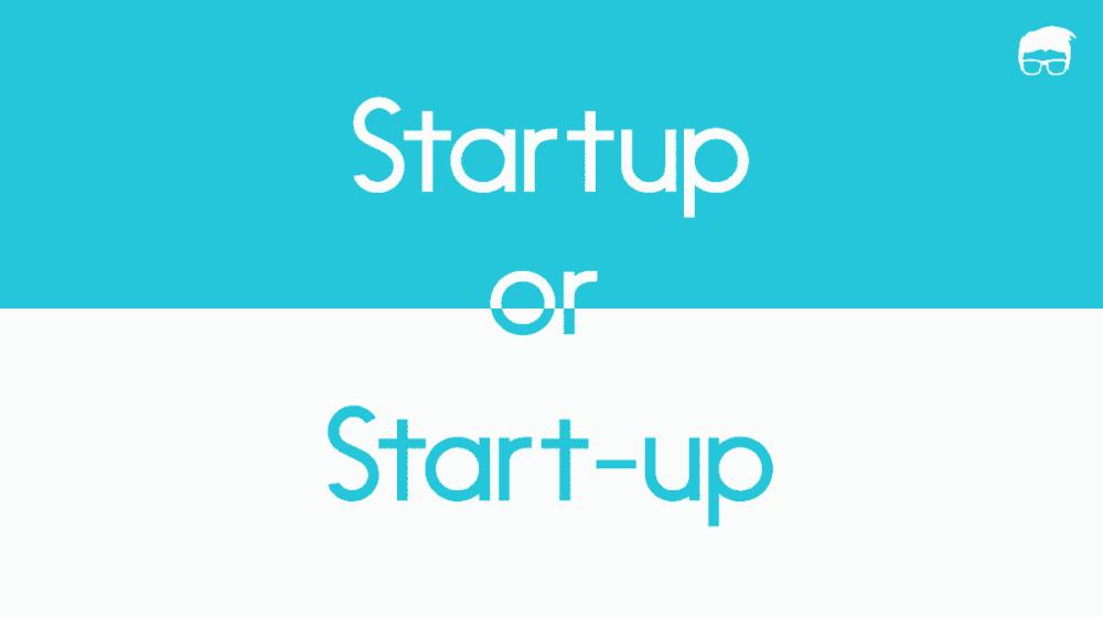 startup or start-up