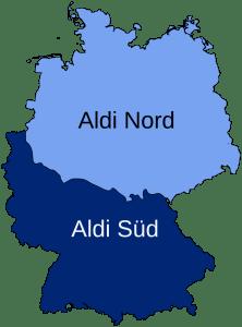 aldi nord vs Aldi Sud