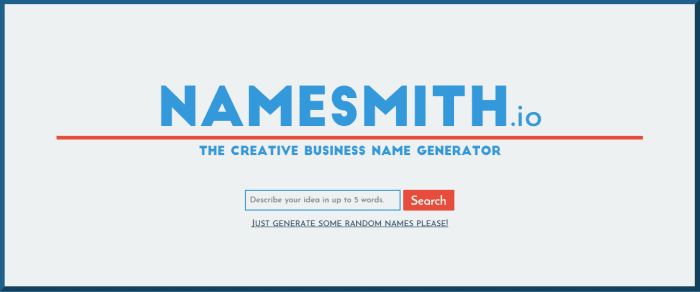 namesmith branding tool
