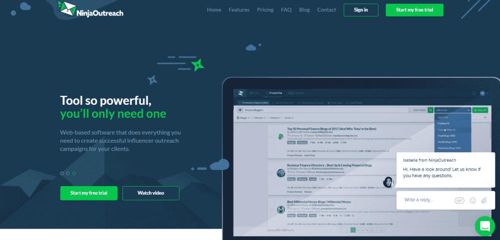 ninjaoutreach marketing outsourcing tool