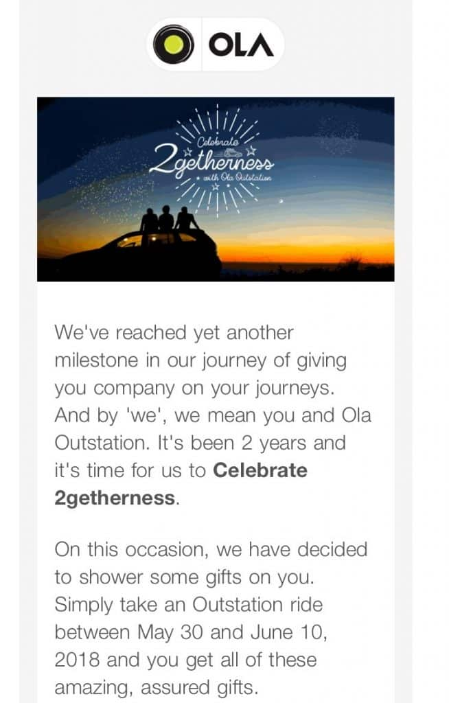 ola email interactive marketing
