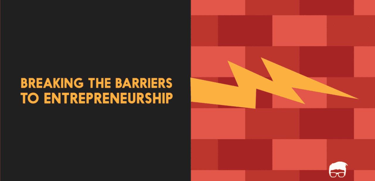 barriers to entrepreneurship
