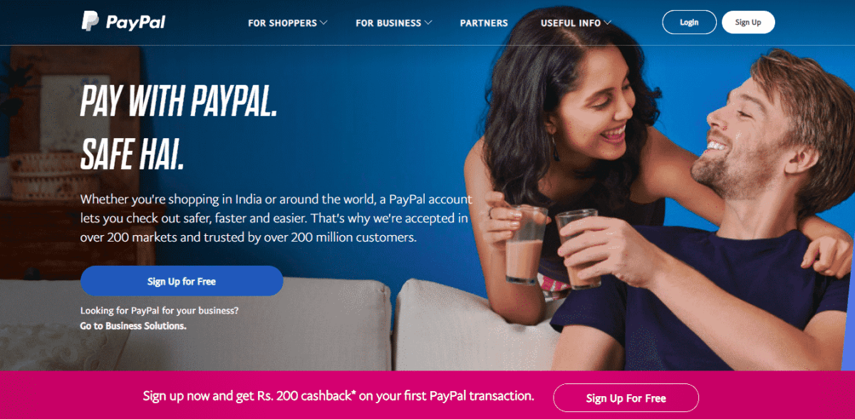 paypal financial toolkit