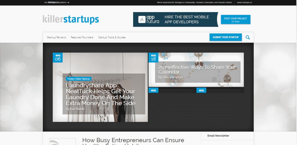killer startups startup listing