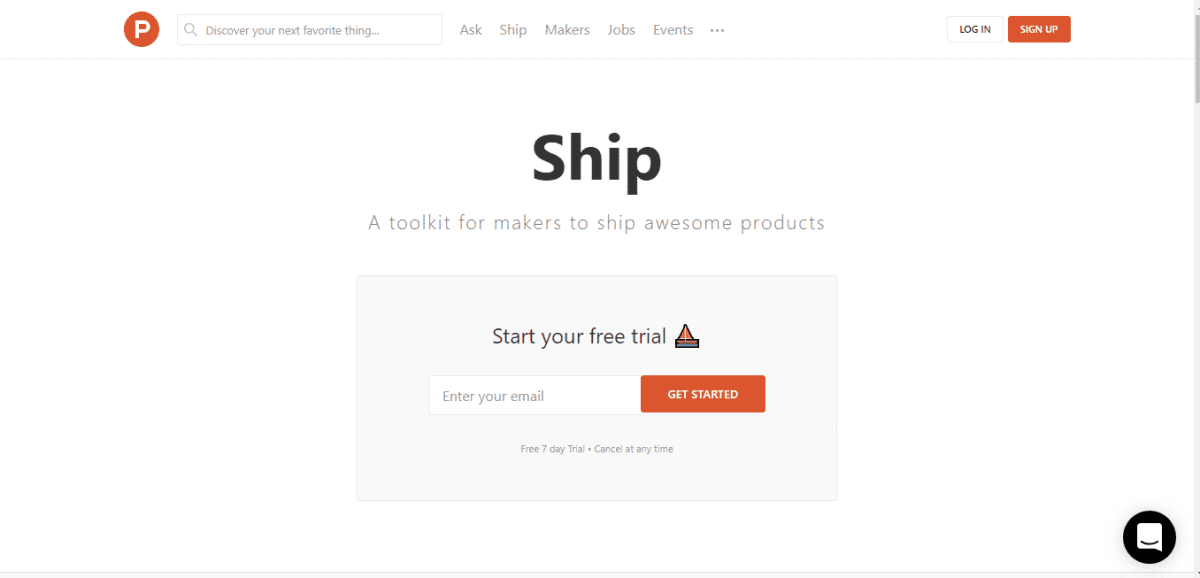 ship product hunt