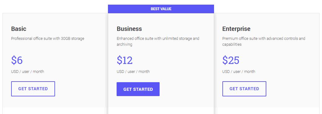 g suite price