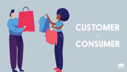 customer vs. consumer
