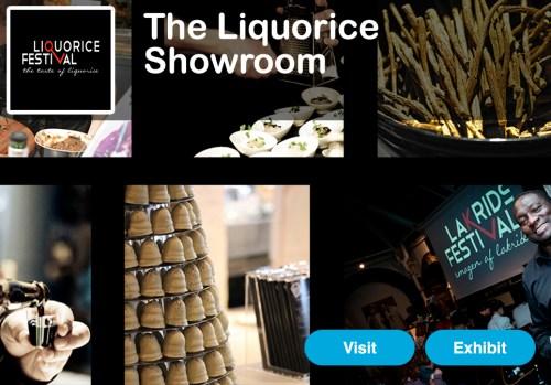 Liquorice Showroom