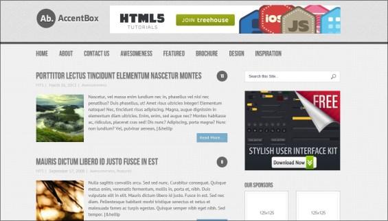 accentbox wordpress theme