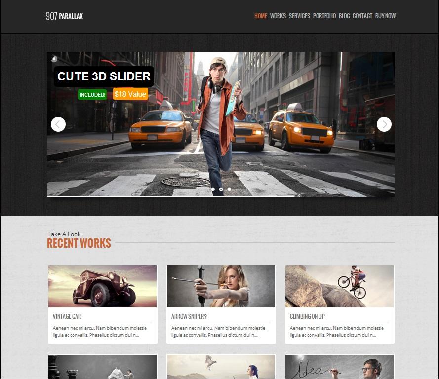 907 WordPress Theme