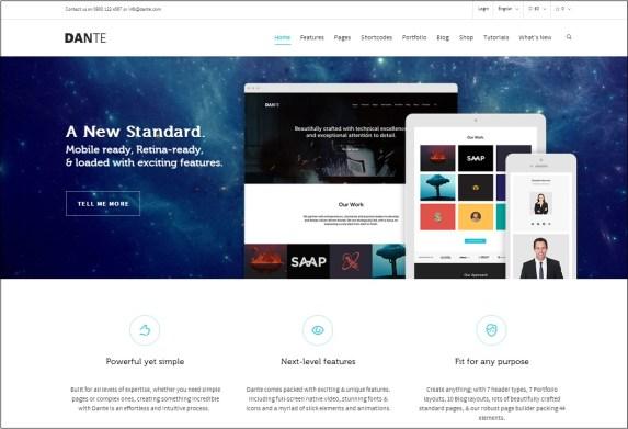 Dante WordPress theme