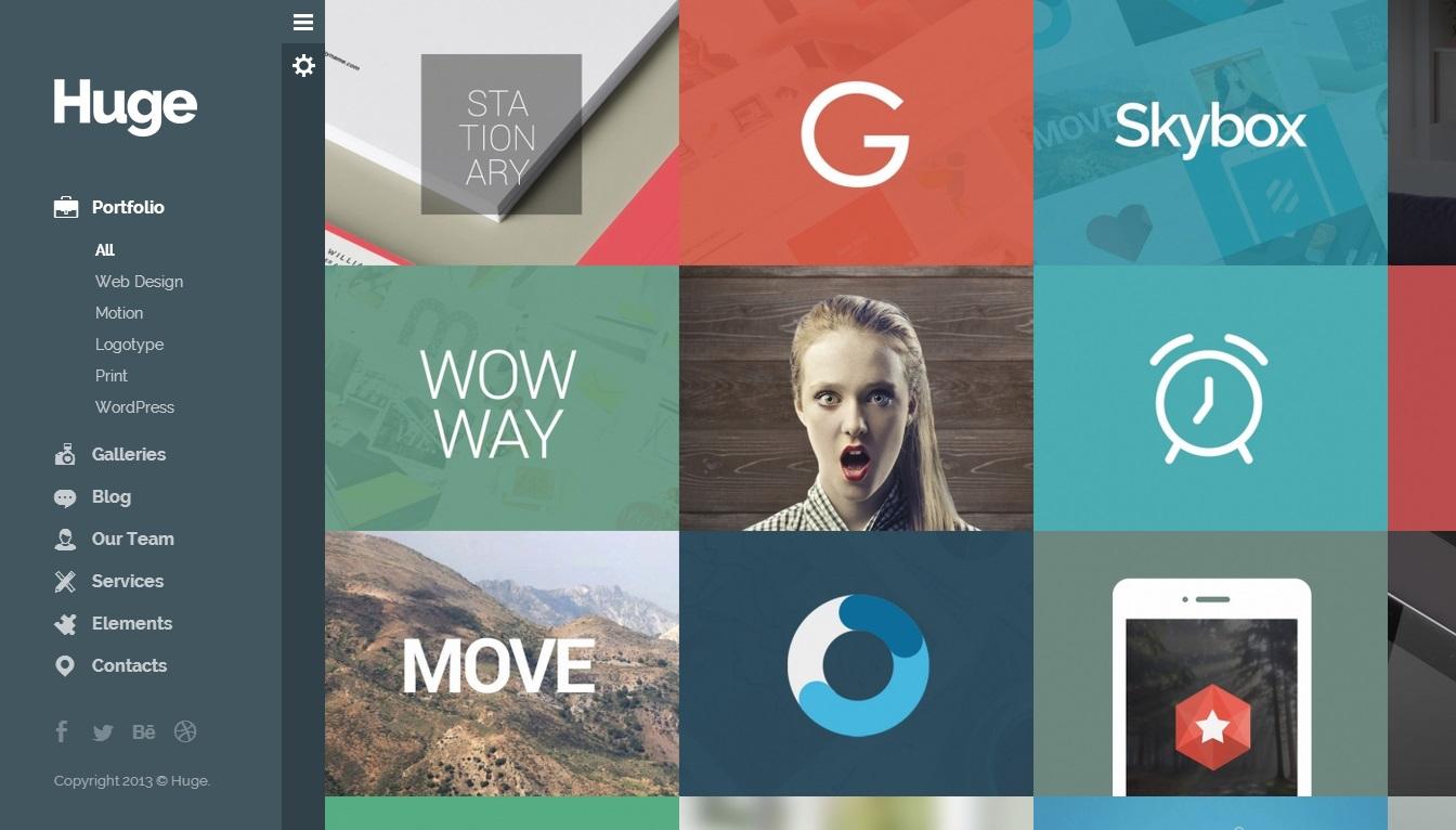 Huge WordPress Theme