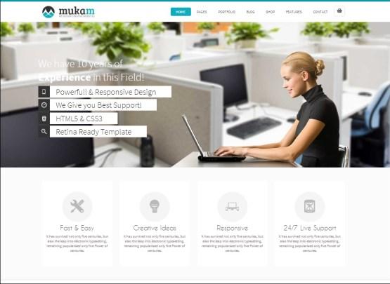 Mukam WordPress theme