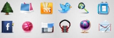 Socializic media icons