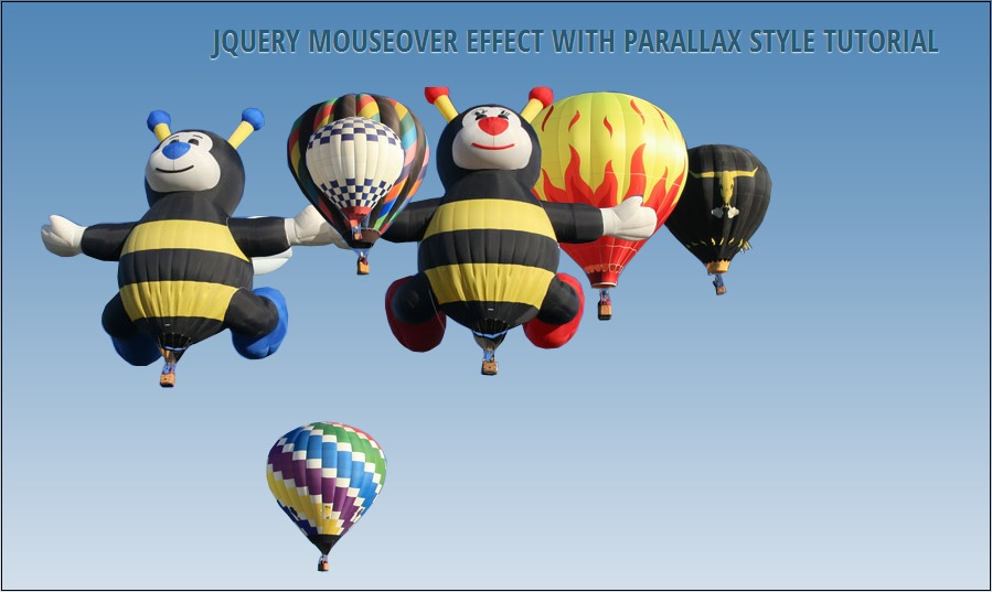 JQUERY MOUSEOVER EFFECT
