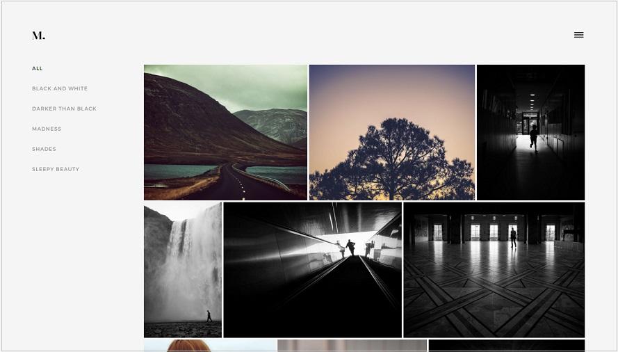 Turin Photography WordPress Theme