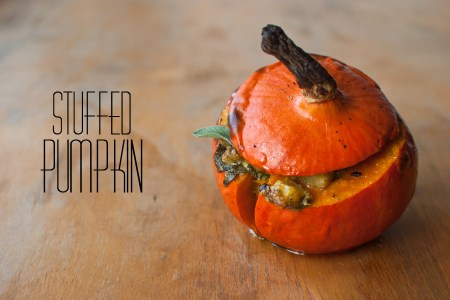 Stuffed Pumpkin