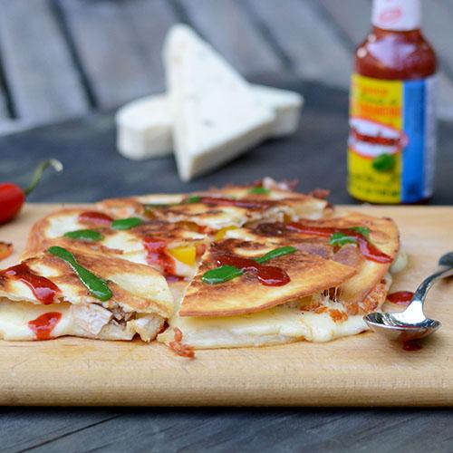 el yucateco, quesadillas, peppers, chicken, Mexican, sauces, habanero, recipes