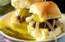 Mushroom & Onion Sliders