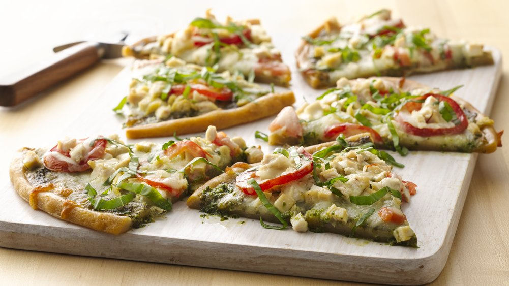 Gluten-Free Pesto Pizza Best Appetizers