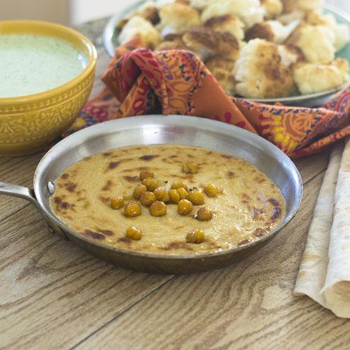 Turkish Hummus a la Zahav from Feed Your Soul Too