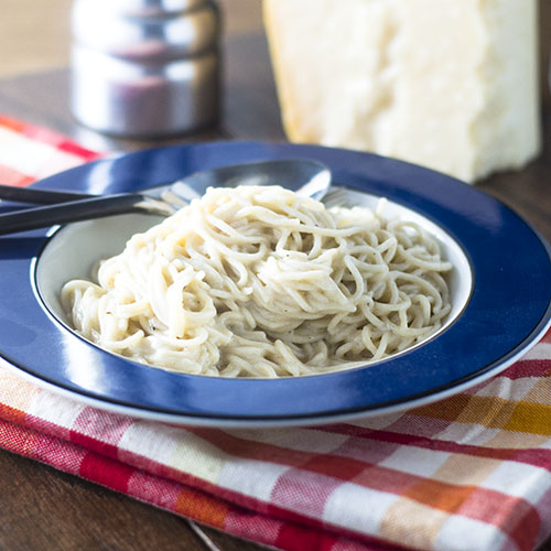 Gluten Free Pasta e Pepe from Feed Your Soul Too