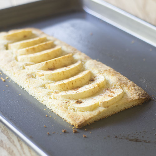 Apple Tart after Baking
