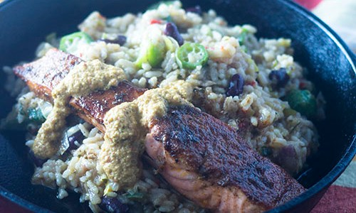 How to make blackened salmon feed your soul too for How to make blackened fish